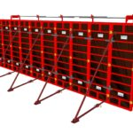 securite metalique pour coffrage modulaire