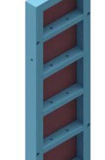 Coffrage modulaire acier 150 * 50